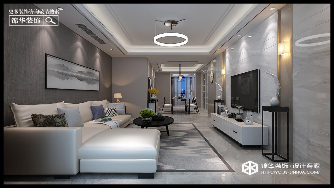 香苑西园--极致装修-三室两厅-现代简约