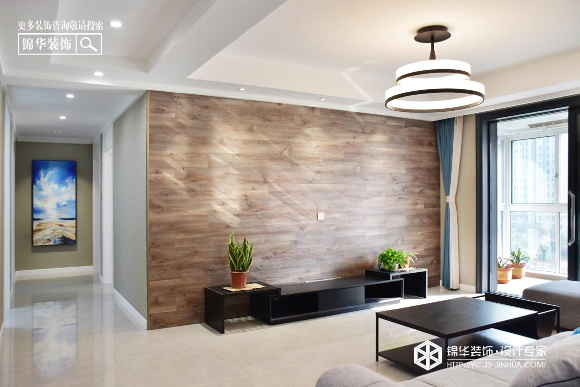 现代简约-凤鸣缇香-三室两厅-130㎡装修实景效果图装修-三室两厅-现代简约