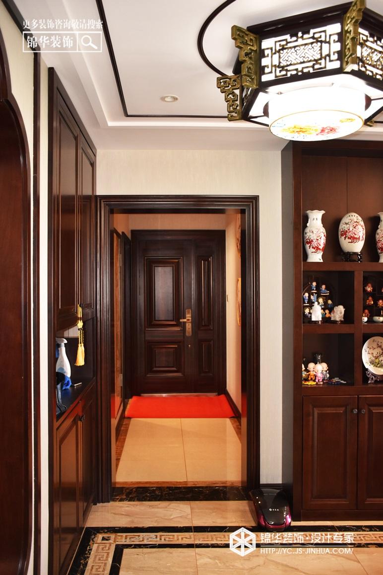 大丰 印象康桥-新中式-160㎡装修-三室两厅-新中式