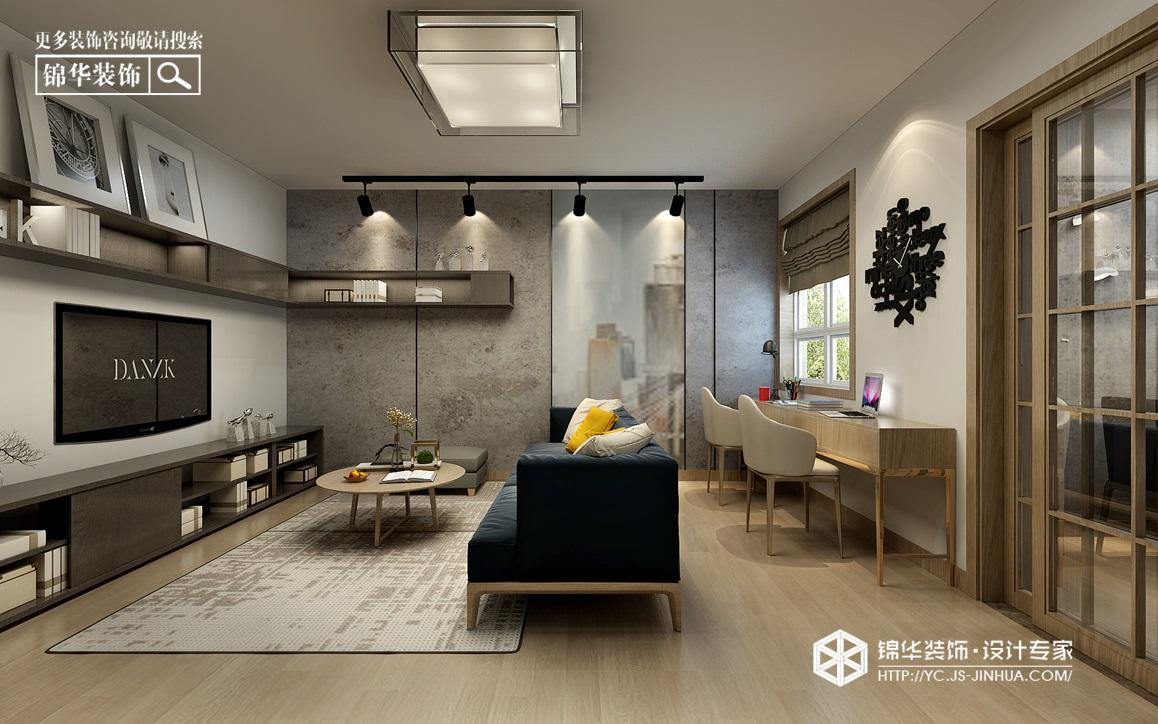 北欧风格-东郊新村-三室两厅-96㎡装修实景效果图装修-三室两厅-现代简约