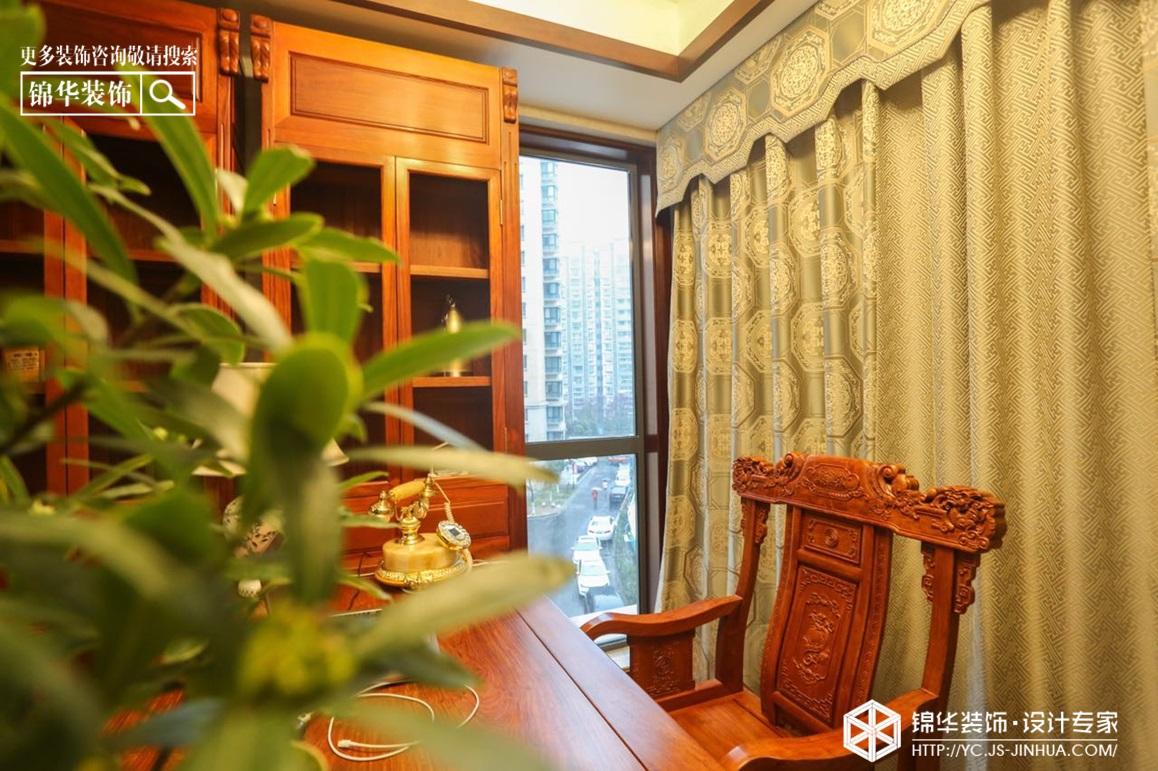 新中式风格-凤鸣缇香-大平层-180㎡装修实景效果图装修-四室两厅-新中式
