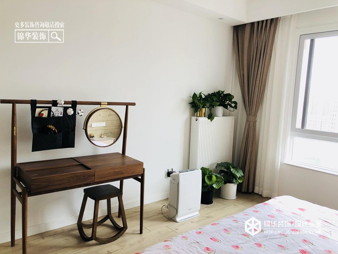 现代北欧-香园东苑-三室两厅-131㎡-装修实景效果图装修-三室两厅-北欧