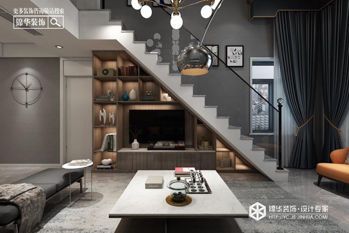 现代简约-申鑫名城-大平层-163㎡装修实景效果图装修-大户型-现代简约