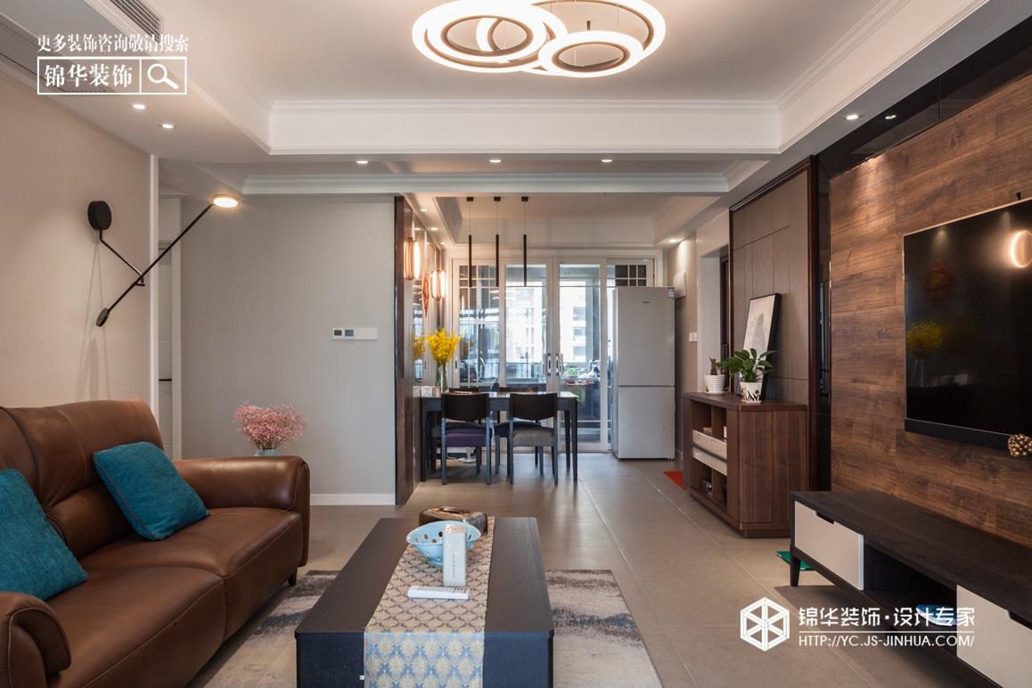 现代简约-中南世纪城-四室两厅-130㎡装修实景效果图装修-四室两厅-现代简约
