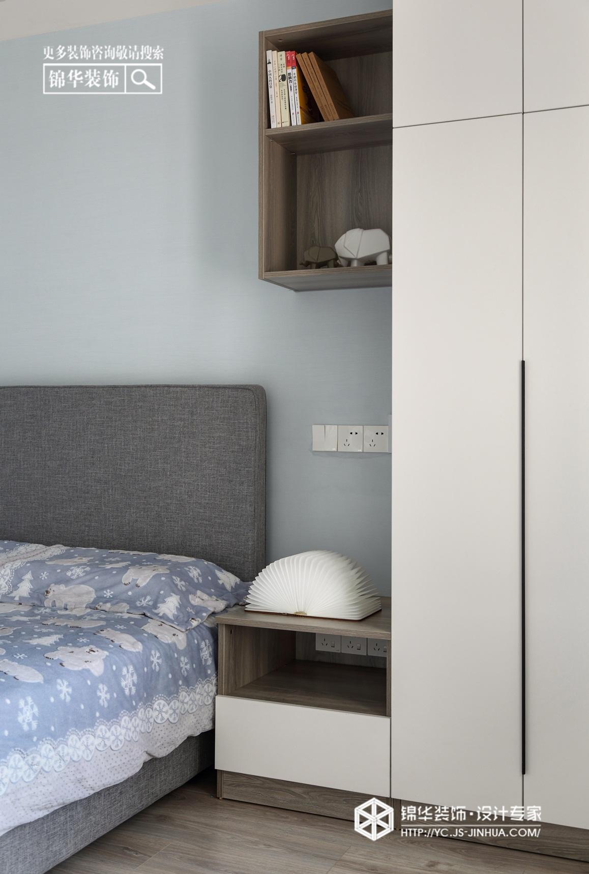 北欧风格-凤鸣缇香-三室两厅-105㎡装修实景效果图装修-三室两厅-北欧
