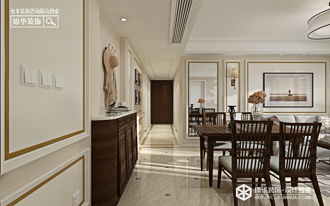 温馨小美 -幸福花苑-三室两厅-117㎡装修实景效果图装修-三室两厅-简美