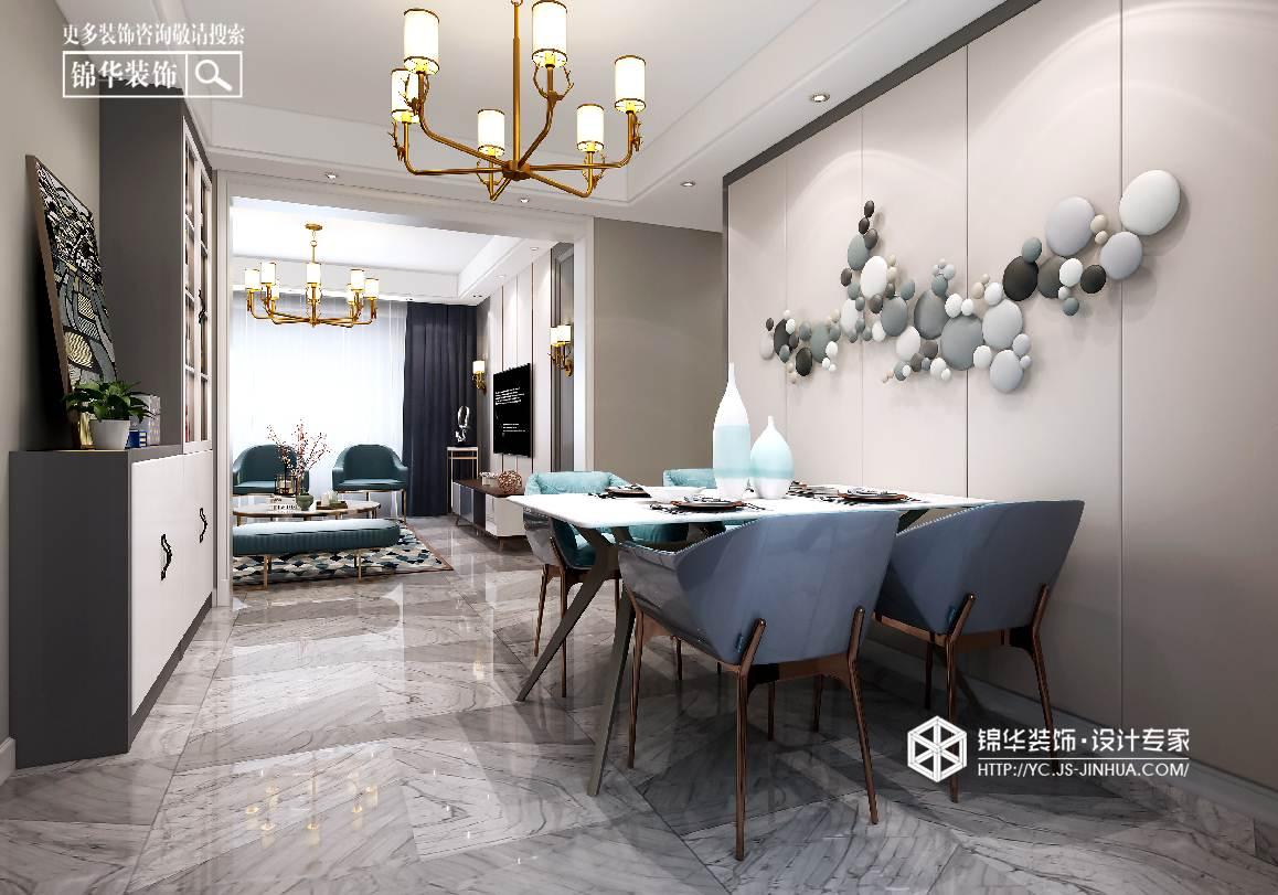 现代风格-德惠尚书房-三室两厅-127㎡装修实景效果图装修-三室两厅-现代简约