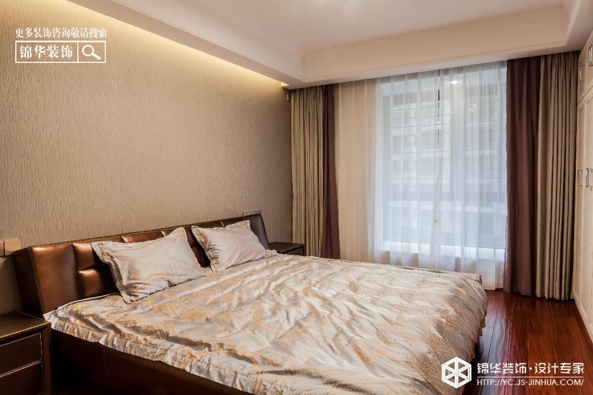 现代简约-香苑西园-三室两厅-160㎡装修实景效果图装修-三室两厅-现代简约