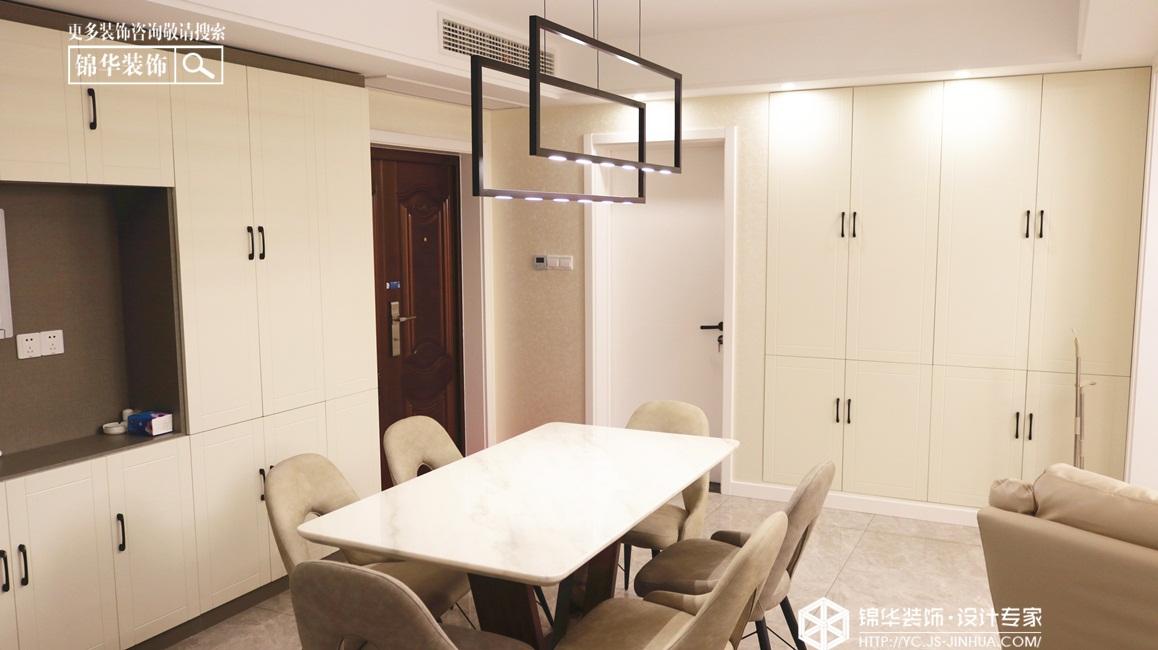 现代风格-华建颐园-三室两厅-114㎡装修实景效果图装修-三室两厅-现代简约