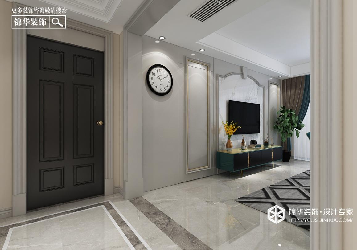 橡树湾-简美装修-三室两厅-简美