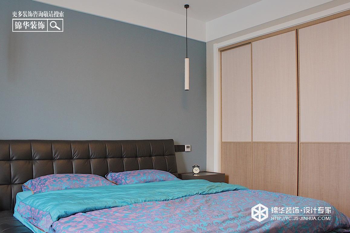 现代风格-凤鸣缇香—两室一厅公寓-98㎡装修实景效果图装修-两室一厅-现代简约