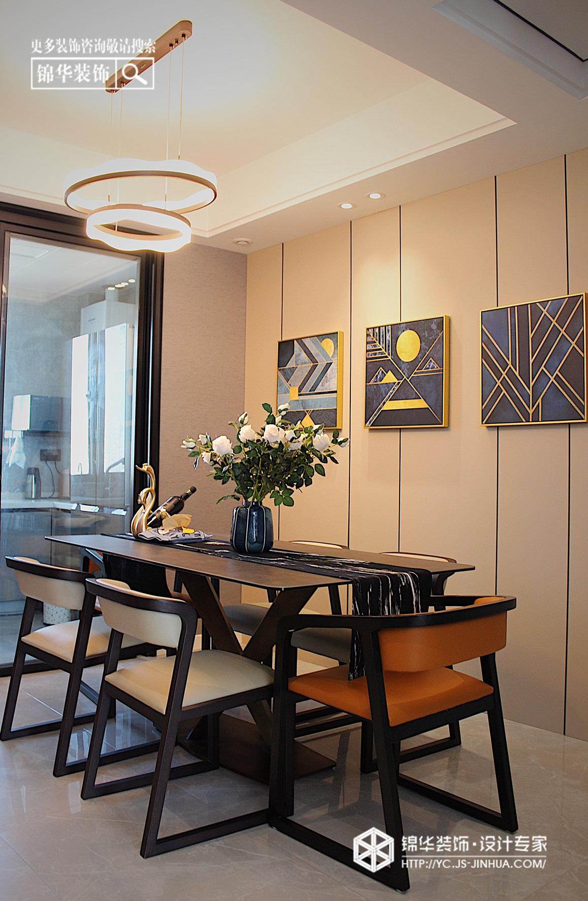 现代简约-悦达·悦珑湾-三室两厅-130㎡装修实景效果图装修-三室两厅-现代简约
