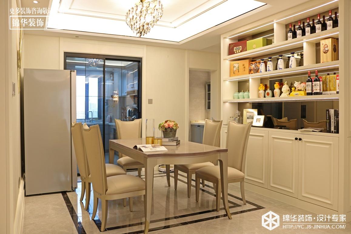 唯美轻奢-香苑东园-三室两厅-160㎡装修实景效果图装修-三室两厅-简美