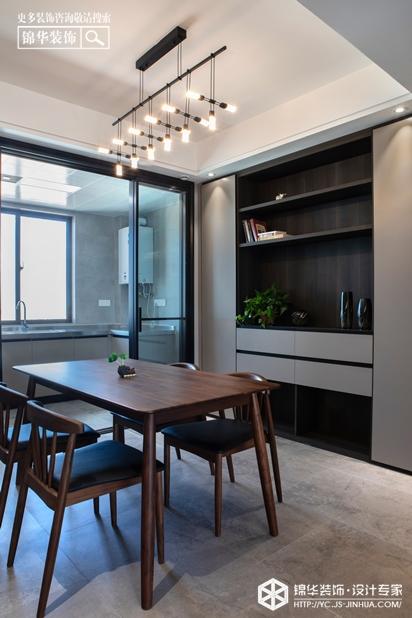 悦达悦珑湾-现代简约--三室两厅-餐厅
