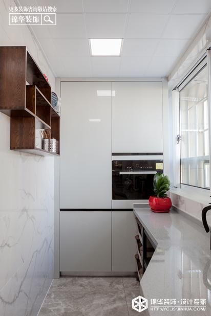 现代简约-大丰 中交美庐城-三室两厅-120㎡装修实景效果图装修-三室两厅-现代简约