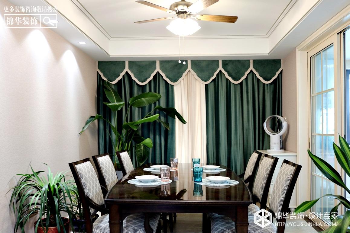 简美风格-2009庄园-三室两厅-140㎡装修实景效果图装修-三室两厅-简美