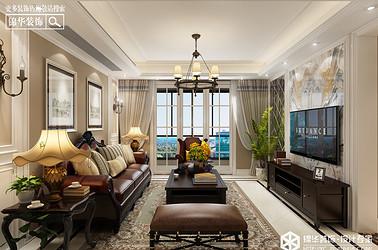 小美风格-中南世纪城-三室两厅-127㎡装修实景效果图