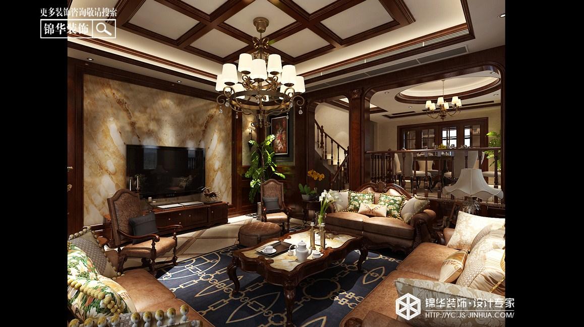 中海世纪公馆别墅-欧式古典-330㎡