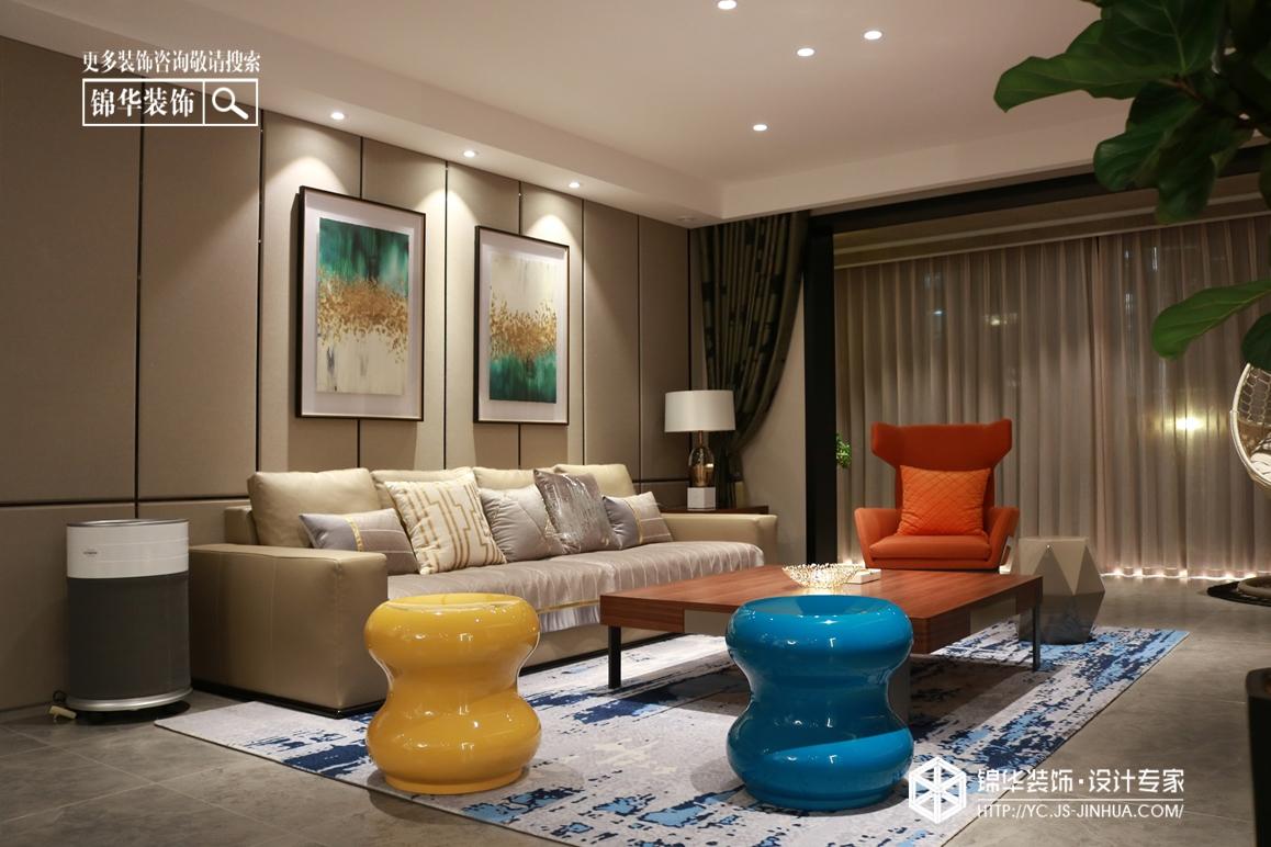 现代风格—龙泊湾—平层160㎡装修实景效果图装修-四室两厅-现代简约