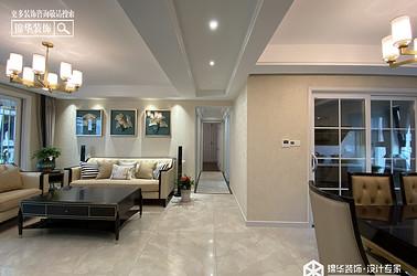 现代简约-碧桂园天玺-三室两厅-130㎡装修实景效果图