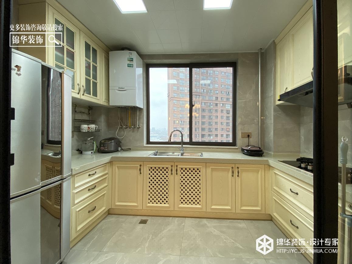 小美风格-悦珑湾-三室两厅-130㎡装修实景效果图装修-三室两厅-简美
