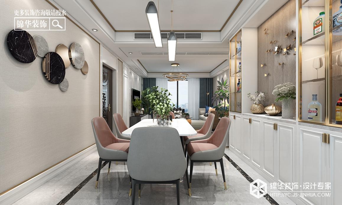 现代简约-香苑东园-三室两厅-150装修实景效果图装修-三室两厅-现代简约