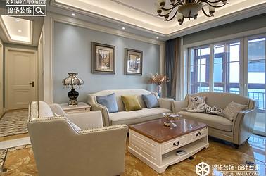 小美风格-碧桂园-三室两厅-160㎡装修实景效果图