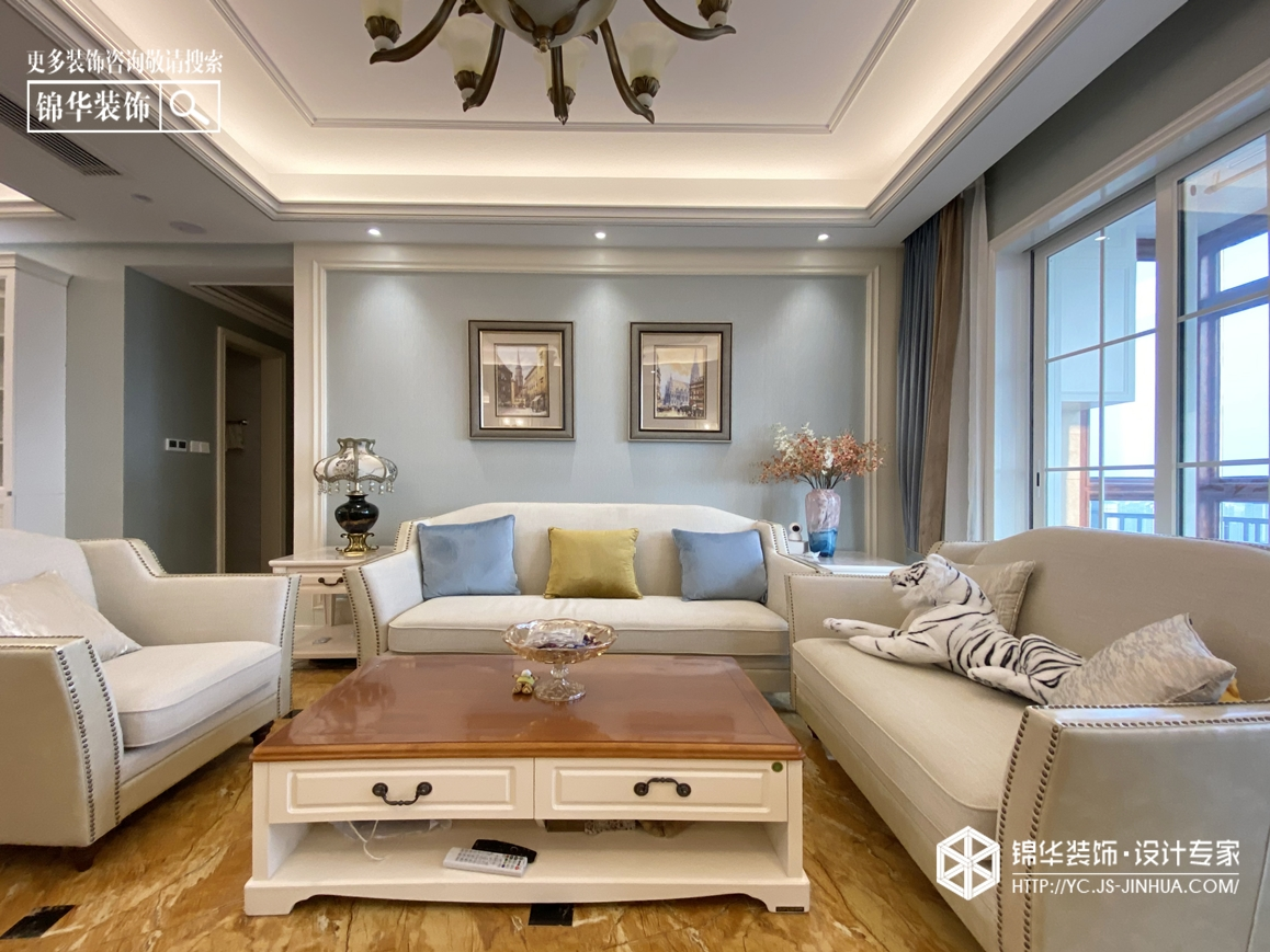 小美风格-碧桂园-三室两厅-160㎡装修实景效果图装修-三室两厅-简美