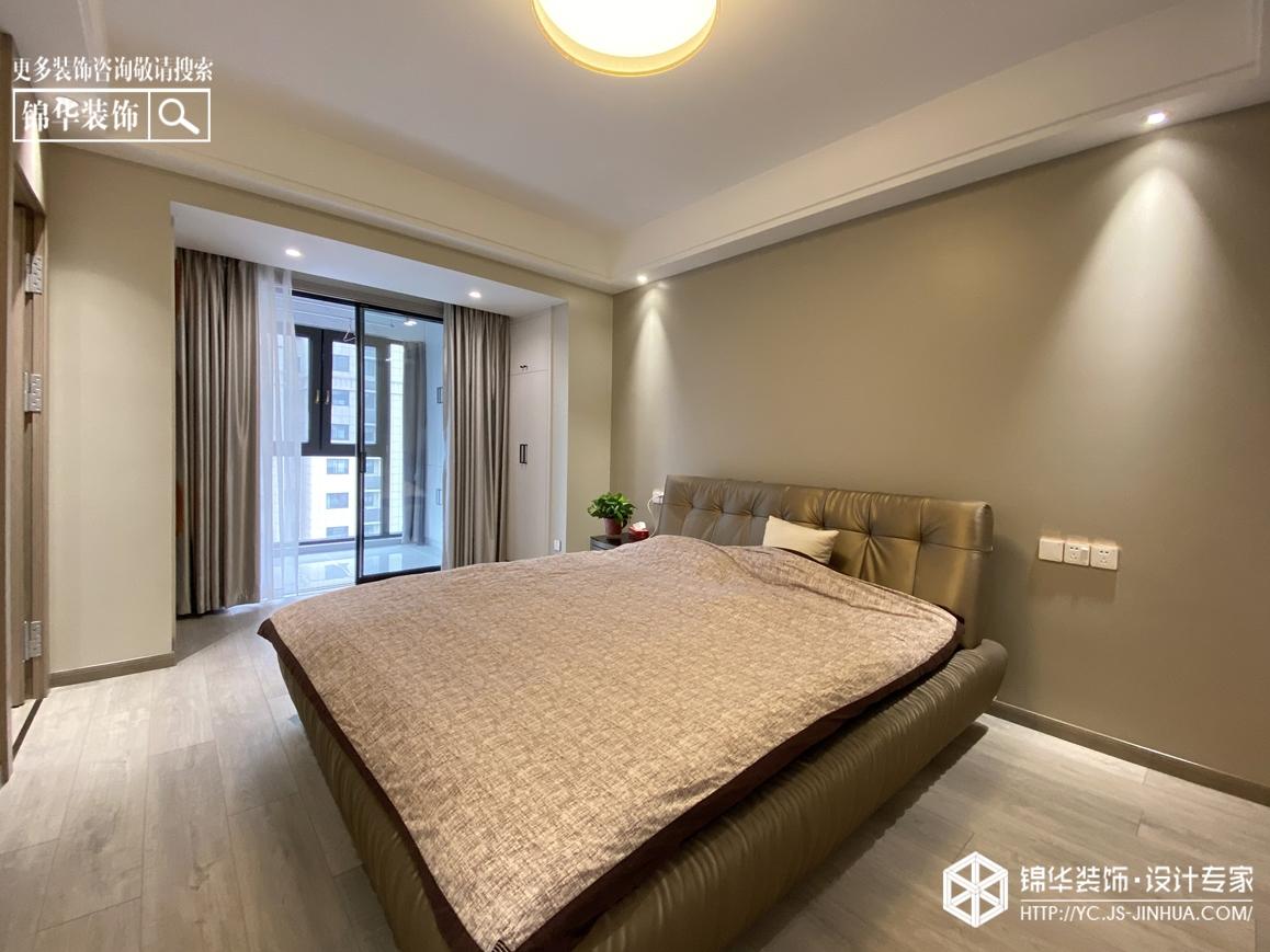 现代轻奢-香苑东园-三室两厅-135㎡装修实景效果图装修-三室两厅-现代简约