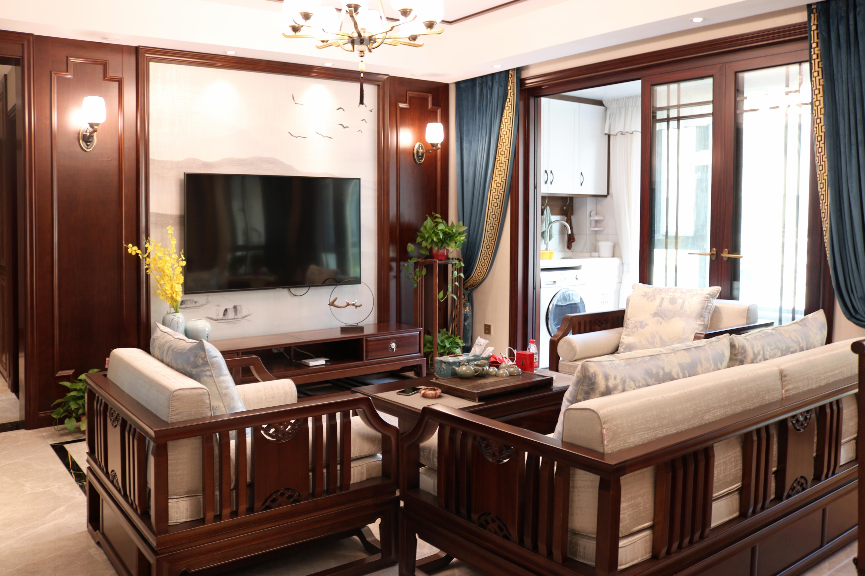 中海万锦园南园-新中式风格-140㎡实景视频