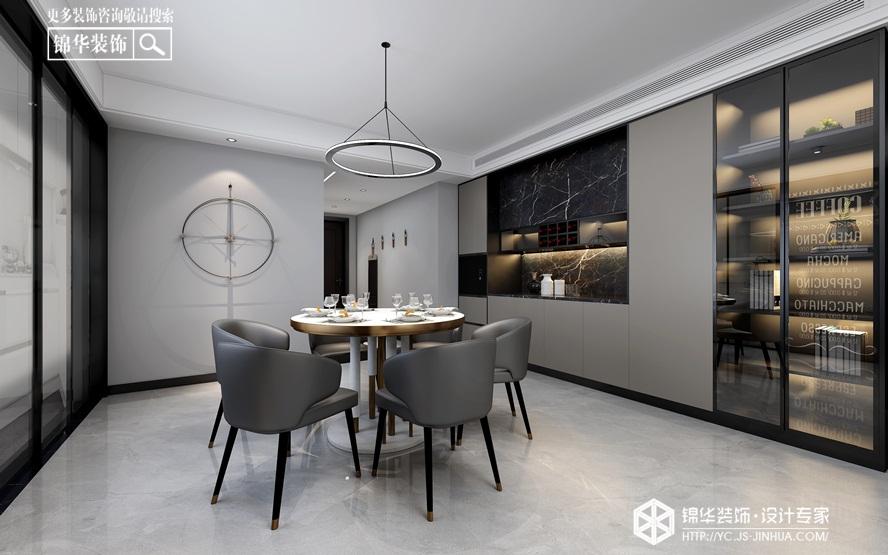现代极简-高教公寓-平层-190㎡装修实景效果图装修-大户型-现代简约
