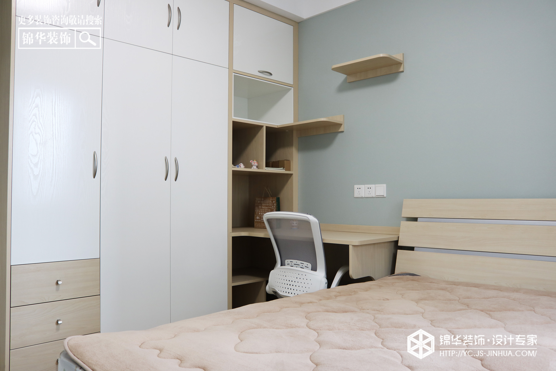 北欧风格-幸福花苑-三室一厅-110㎡装修实景效果图装修-三室一厅-北欧