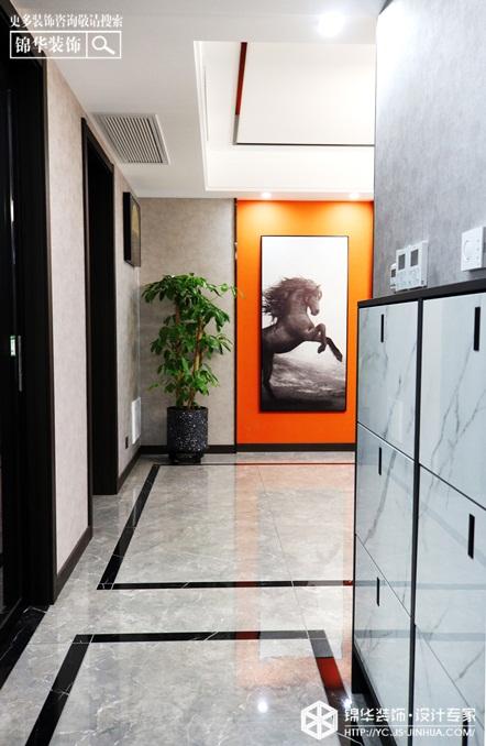 现代轻奢-盛世名都-三室两厅-130㎡装修实景效果图装修-三室两厅-轻奢