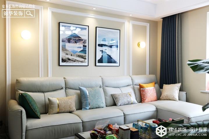 现代风格-华府景城-四室两厅-135㎡装修实景效果图
