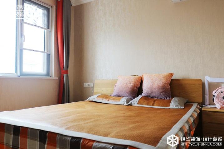 现代北欧-华建颐园-两室一厅-90㎡装修实景效果图装修-两室一厅-北欧