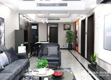 现代轻奢-盛世名都-三室两厅-130㎡