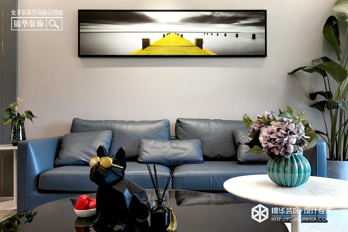 现代轻奢-橡树湾-平层-187㎡装修实景效果图
