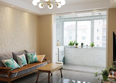 现代北欧-华建颐园-两室一厅-90㎡