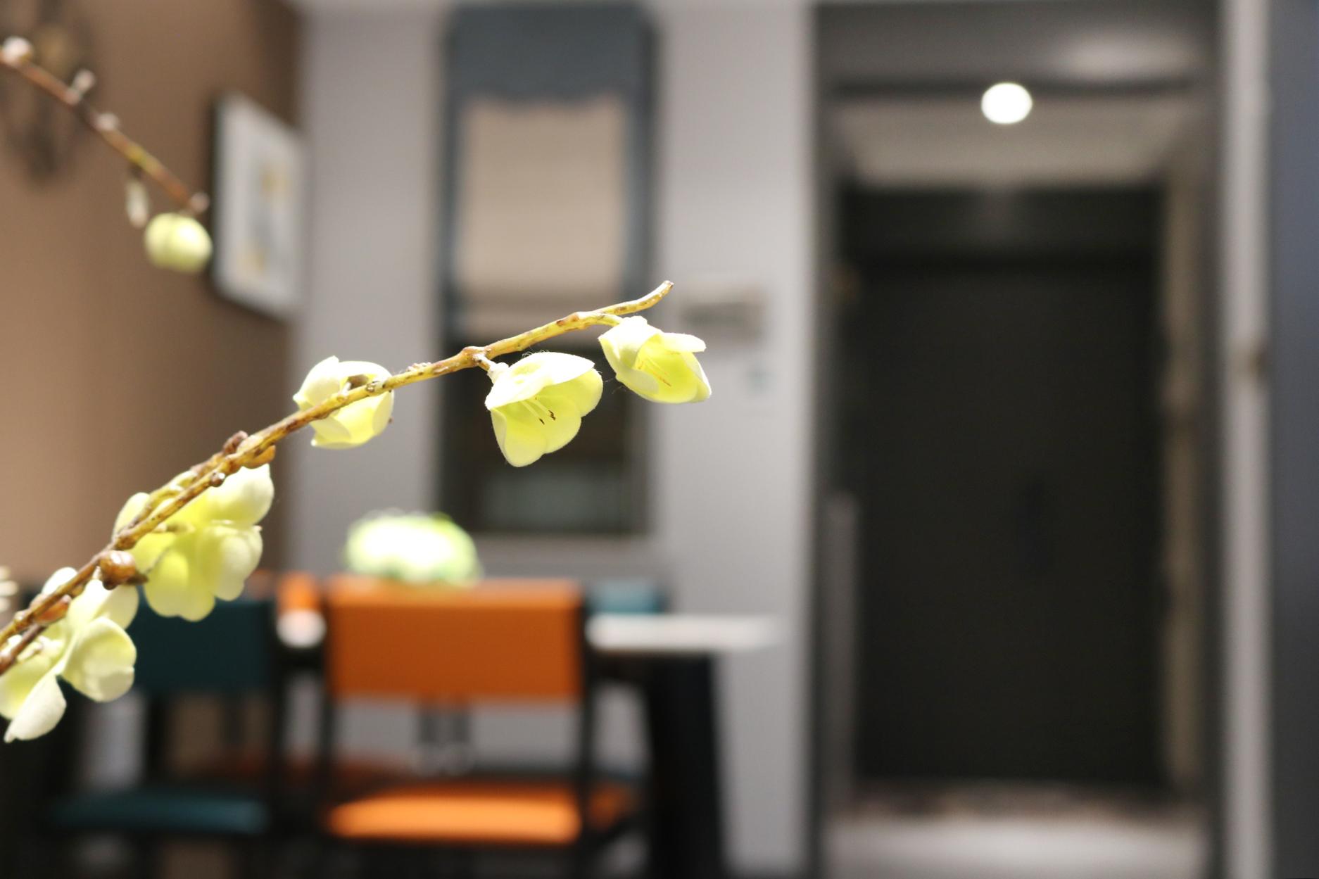 现代简约-金辉城优步水岸-三室两厅-96㎡装修实景效果图