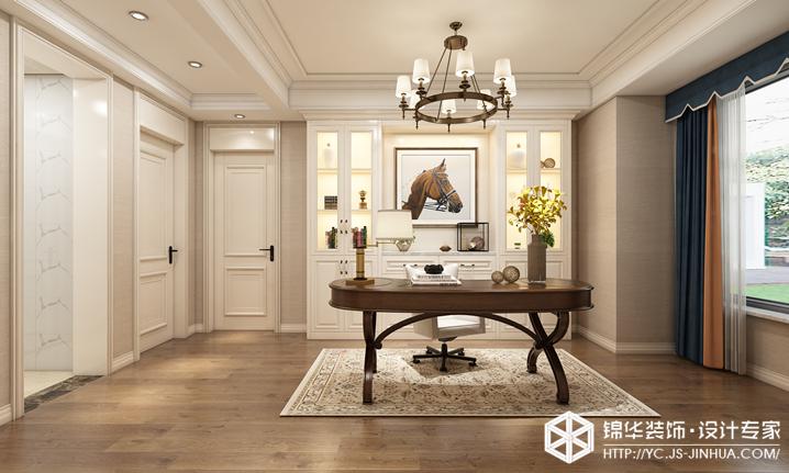 美式风格-碧桂园-四室两厅-139㎡装修实景效果图装修-四室两厅-简美