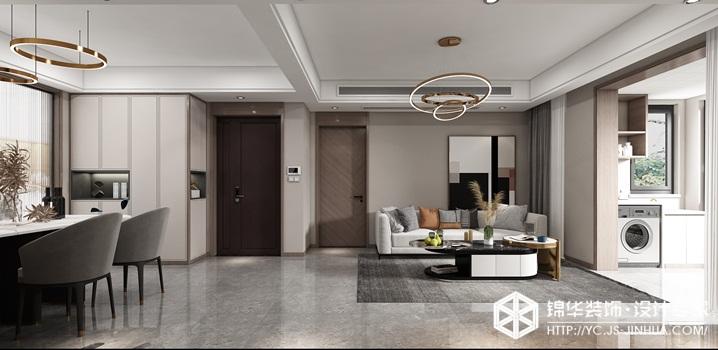 现代轻奢-翡翠之光-四室两厅-136㎡装修实景效果图装修-四室两厅-轻奢