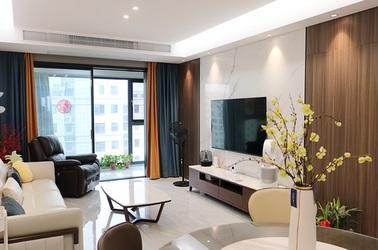 现代简约-香苑东园-三室两厅-125㎡装修实景效果图