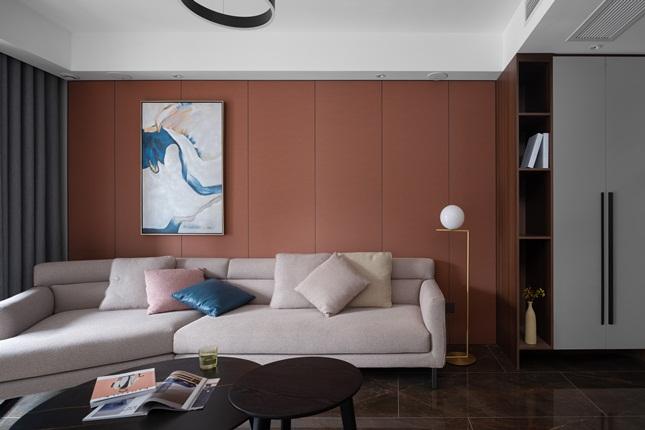 现代简约-悦珑湾-三室两厅-140㎡装修实景效果图