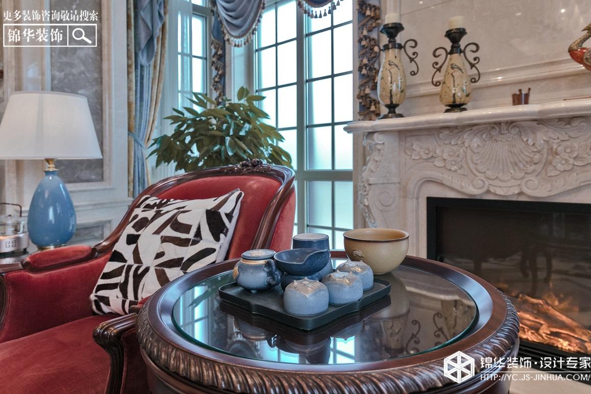 美式风格-半岛花园-别墅-380㎡装修实景效果图装修-别墅-美式田园