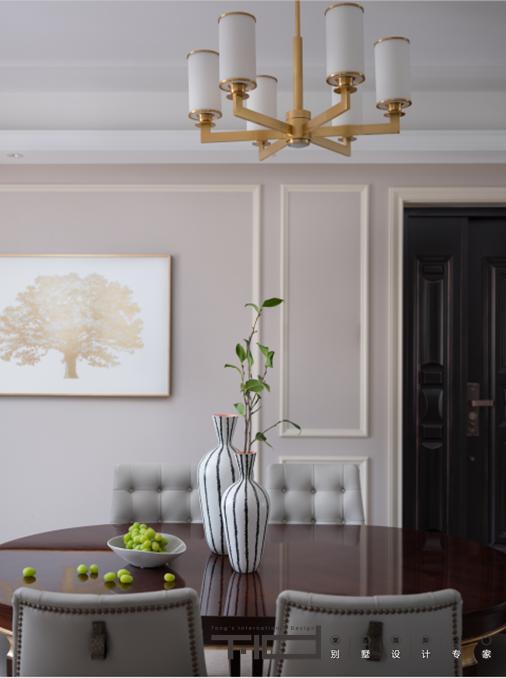 现代美式-日月星城-四室两厅-190㎡-装修实景效果图装修-四室两厅-现代简约