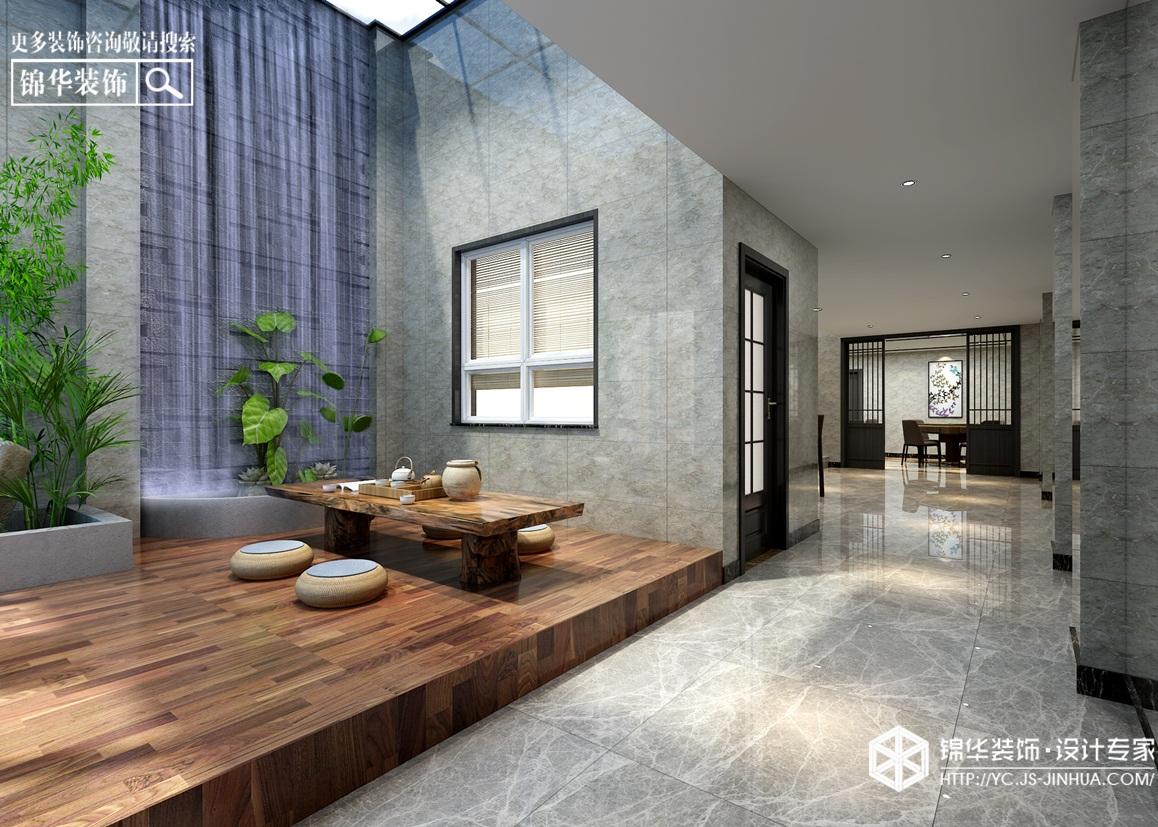 现代风格-城市御墅-别墅-300㎡-装修实景效果图装修-别墅-现代简约