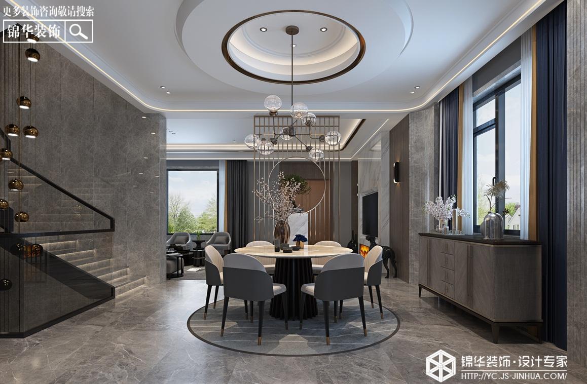 现代风格-十里香溪-别墅-410㎡装修实景效果图装修-别墅-现代简约