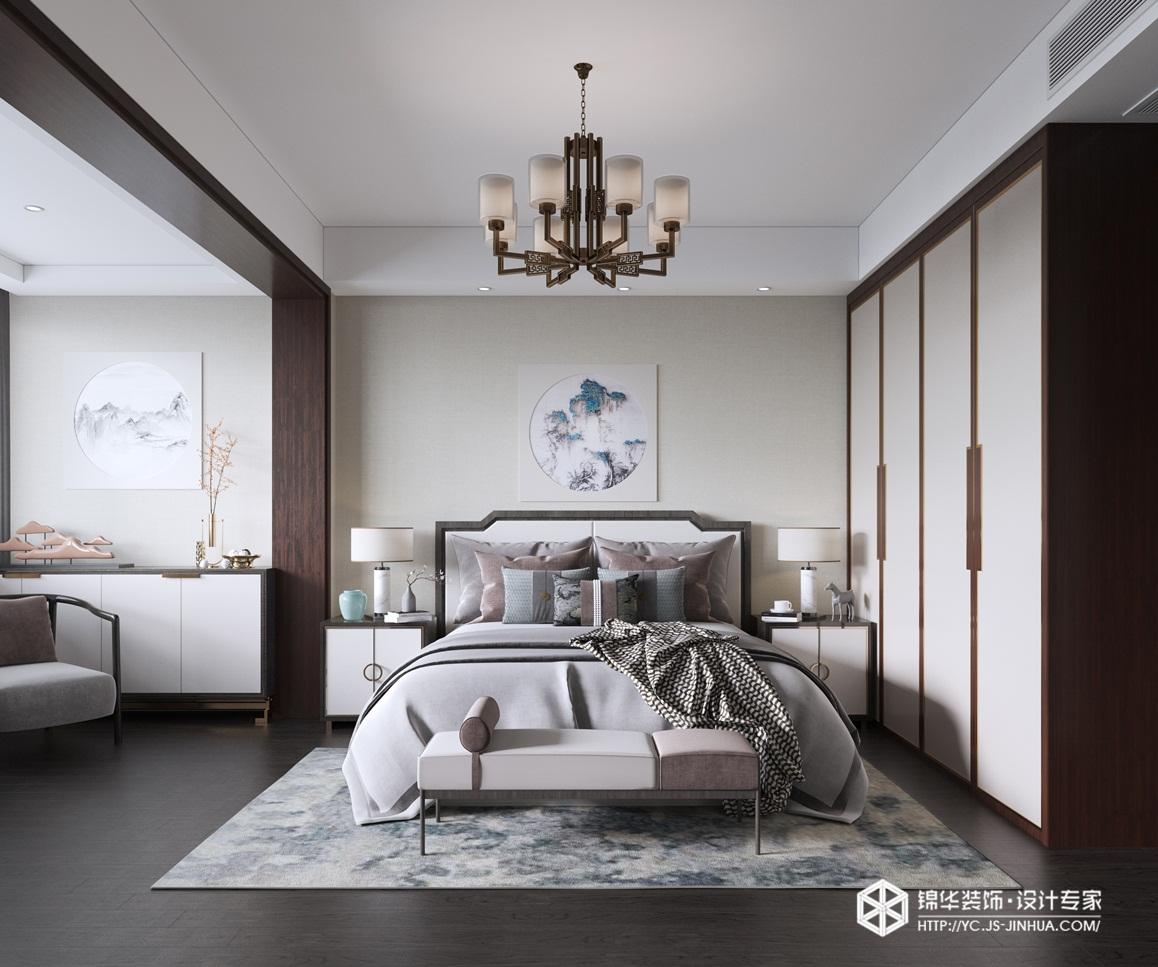 新中式风格-奥林匹克花园-别墅-230㎡装修实景效果图装修-别墅-新中式