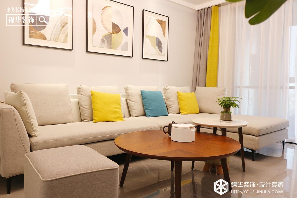 现代简约-悦珑湾-三室两厅-140㎡