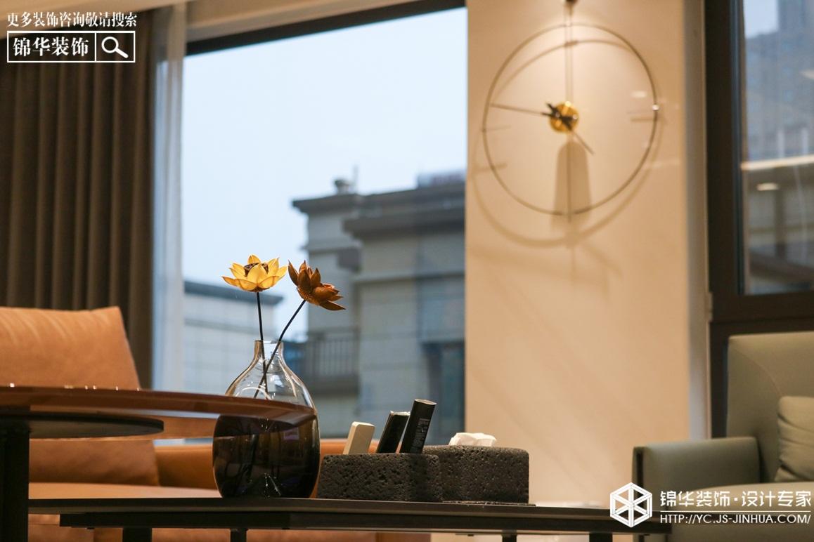 现代简约-中南八期-三室两厅-145㎡装修实景效果图